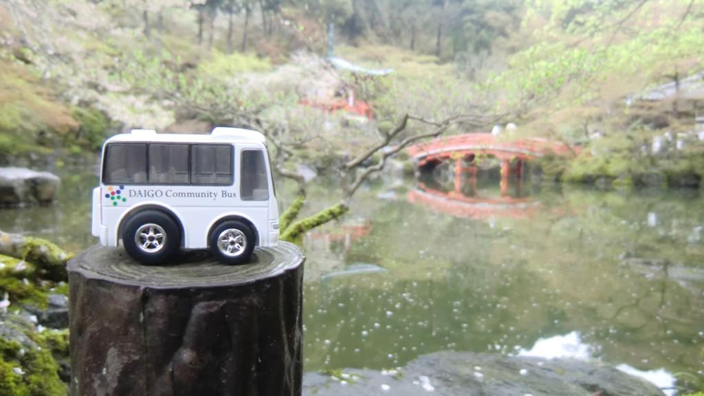 醍醐寺とチョロQ